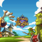 Build and manage your school of magic in Schools of Magic